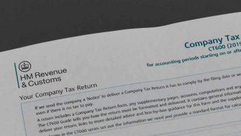 Company tax returns form