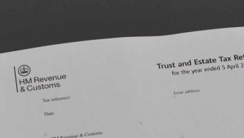 trust estate tax form
