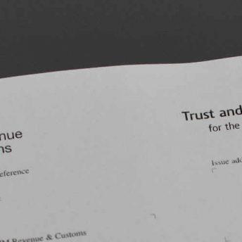 trust estate tax form